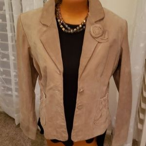 Wilson's Leather new with tags suede jacket